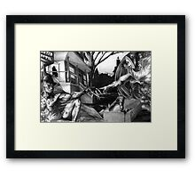 The Creation of Freddy Framed Print
