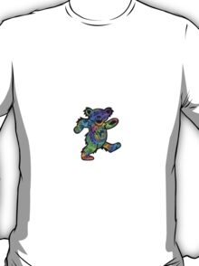 Grateful Dead Dancing Bear Trippy T-Shirt