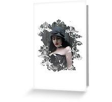 Lady Grey Greeting Card