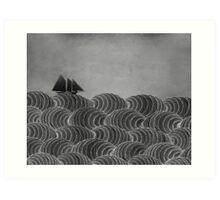 The Ancient Sea Art Print