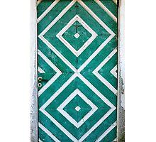Rustic Door Photographic Print