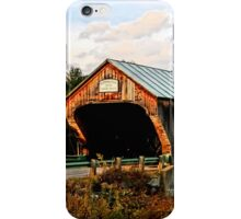 Bartonsville Covered Bridge iPhone Case/Skin