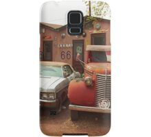 Route 66 - Snow Cap Drive-In Samsung Galaxy Case/Skin