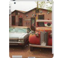 Route 66 - Snow Cap Drive-In iPad Case/Skin