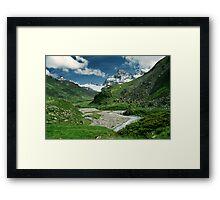 Early summer in Ochsental, Austria Framed Print