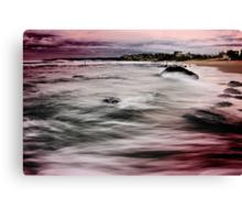 Bar Beach NSW Canvas Print