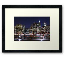 Tourism - New York Framed Print