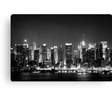 West Side Story - New York  Canvas Print