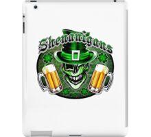 Leprechaun Skull 2: Shenanigans 2 iPad Case/Skin
