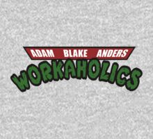 Workaholics - Teenage Mutant Ninja Turtles Logo by shirtsforshirts