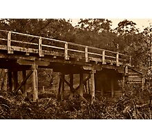 """""""Spanning Time and Sutherland's Creek"""" Photographic Print"""