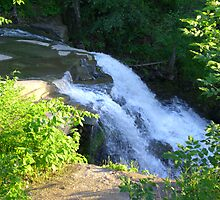 Brecksville Metroparks - waterfall  by Rachel Counts