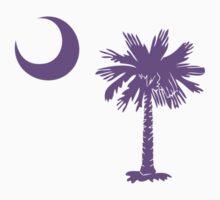 Purple Palmetto Moon by Carolina Swagger