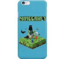 minecraft fear iPhone Case/Skin