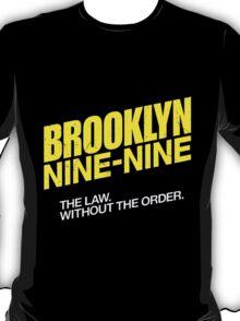 Brooklyn Nine-Nine Logo & Slogan T-Shirt
