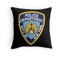 NYPD Badge (Also from Brooklyn 99) Throw Pillow