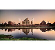 Taj over water.  Photographic Print