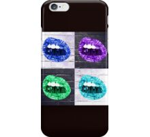 PUT YOUR MONEY WHERE YOUR MOUTH IS (BRIGHT COLORS) iPhone Case/Skin