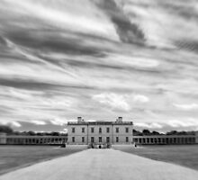 Greenwich - Queen's House BW by Karen Martin