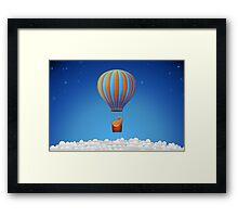 Flying Elephant Framed Print