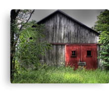 Abandoned Memory Canvas Print