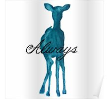 Harry Potter Merchandise ('Always' Quote/Stag) Poster