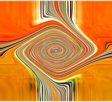 Orange and Lemon Abstract. by PauletteHurley