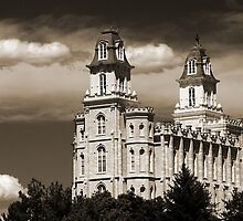 "Manti Temple - ""Summer Clouds"" by Ryan Houston"