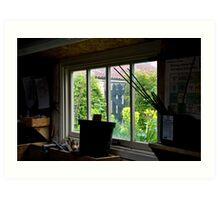 Secrets of the potting shed Art Print