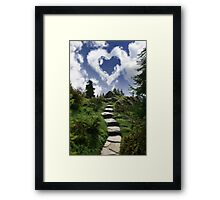 Trail's End Framed Print