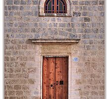 Chapel Facade Detail by PhotoArtBy Astrid
