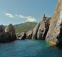 Stone heritage in Mediterannean sea. by loiteke