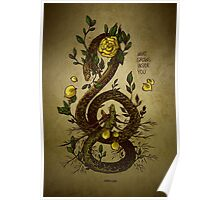 WHAT GROWS INSIDE YOU Poster