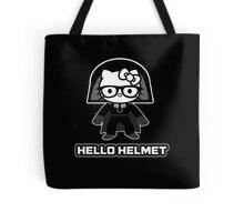 Hello Helmet Tote Bag