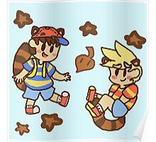 Tanooki cuties Poster
