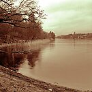 Evening rain in Stora Skuggan by distortion