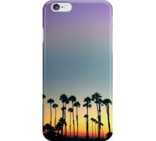 malibu sunset iPhone Case/Skin