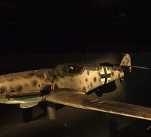 Messerschmitt Me109- War Memorial Canberra by SharonD