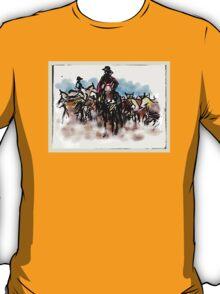 Cattle herding New Zealand T-Shirt