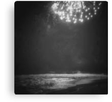 Ocean Fireworks Canvas Print