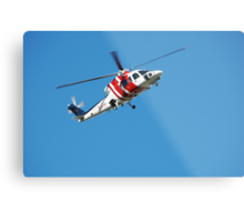 Rescue Helicopter - Newcastle Hunter Region Metal Print