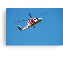 Rescue Helicopter - Newcastle Hunter Region Canvas Print