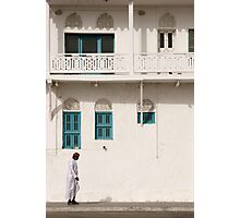 Merchant House Muttrah Corniche Oman Photographic Print