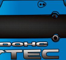 Honda H22 valve cover - Blue V.2 Sticker