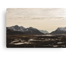 Alt For Norge Canvas Print