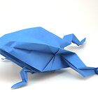 Origami frog by gordy