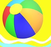 Beachball by Robert Elfferich
