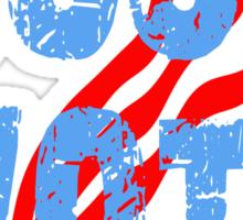 Just Vote Patriotic Voting Design Sticker