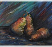 Three Pears by Nadine Rippelmeyer