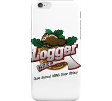 Logger Beer Tee from Grand Theft Auto - GTA iPhone Case/Skin